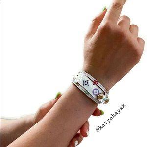 Louis Vuitton Multicolor Monogram ID Bracelet